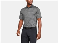 Under Armour MENS TEXTURED PERFORMANCE POLO - GREY