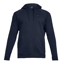 Under Armour Mens Rival Fleece Pullover Hoodie - NAVY