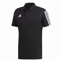 Adidas Tiro 19 Cotton Polo - BLACK/WHITE