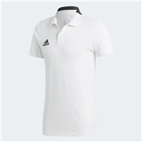 Adidas Condivo 18 Cotton Polo - WHITE/BLACK