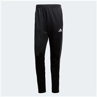 Adidas Core 18 Skinny Pant Youth - BLACK/WHITE