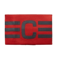 Adidas FB Captains Armband - RED/GREY