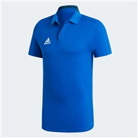 Adidas Condivo 18 Cotton Polo - ROYAL/NAVY/WHITE