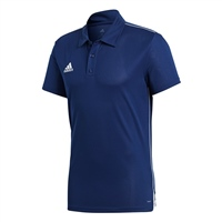 Adidas Core 18 Polo - NAVY/WHITE