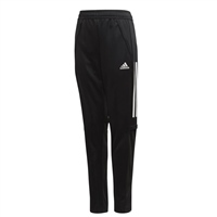 Adidas Tiro 17 Training Pant Kid - BLACK/WHITE/WHITE