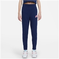 Nike GIRLS CLUB HIGH WAIST TRACK PANTS - NAVY/PINK