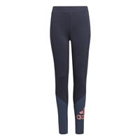 Adidas GIRLS Bl BIG LOGO LEGGINGS - NAVY/PINK
