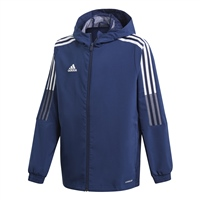 Adidas TIRO 21 WINDBREAKER - YOUTH - NAVY/WHITE