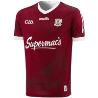 ONeills GALWAY GAA HOME JERSEY 2021 - MAROON/WHITE