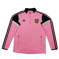 ONeills DONEGAL PORTLAND  HALF ZIP - LADIES - PINK/NAVY