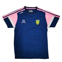 ONeills DONEGAL PORTLAND T-SHIRT - LADIES - NAVY/PINK