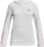 Under Armour GIRLS RIVAL TERRY HOODIE - GREY