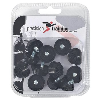 10mm Precision Set of 12 Ultra Flat Rubber Football Stud Set