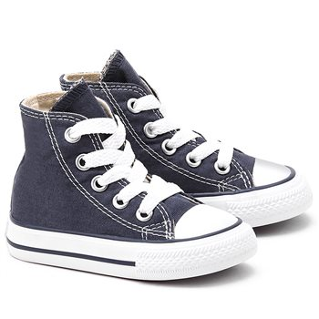 17dc583a985 Converse Infant All Star Hi Top - Navy - Click to view a larger image