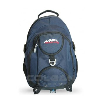 Ridge 53 Navy Backpack  - Click to view a larger image