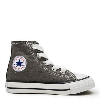 8ace8624f68 Converse Infants Chuck Taylor All Star Core Hi Tops - Charcoal - Click to  view a