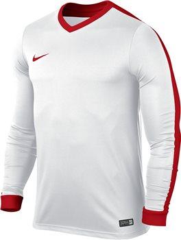 1324c066a Nike L Sleeve Youth Striker IV Jersey - White White University Red ...