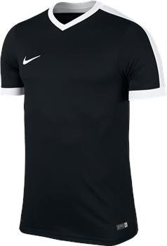 58fc5b3cb Nike S Sleeve Youth Striker IV Jersey - Black Black White White ...