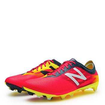 New Balance Furon 2.0 Pro FG Football Boots - Bright Cherry/Galaxy/Firefly  - Click to view a larger image