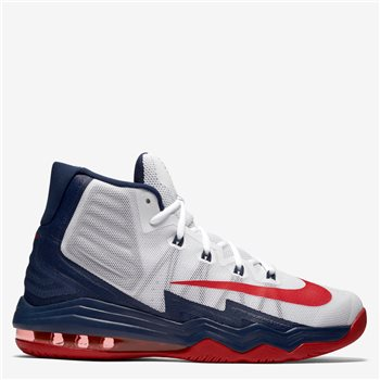 fc975bd33b35 Nike Air Max Audacity 2016 Basketball Boot - White Navy Red - Click to