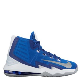 new style e4c5f b1bfc Nike Air Max Audacity 2016 Basketball Boot - Royal Silver White - Click to