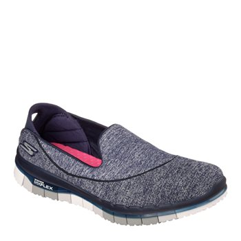 Skechers Go Flex Walk - NVGY Navy Grey - Click to view a larger image 0fc22a67f833