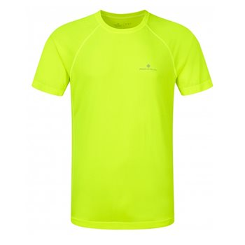 9a3d711c9c8 RonHill Mens Motion S S T-Shirt - R Fluorescent Yellow - Click to