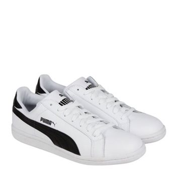 Puma Smash L Runners - White Black White - Click to view a larger 93985ff3f4c13