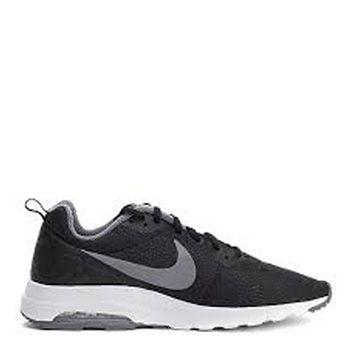 Nike Mens Air Max Motion Low Premium Shoe - Black Grey White - Click 185c77fa12c0