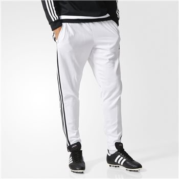 Adidas Tiro 15 Skinny Training Pant - White/Black  - Click to view a larger image