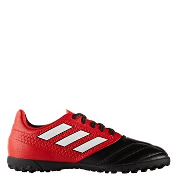Adidas Ace 17.4 J Kids Turf Tainers - Red Black - Click to view a 923143f41