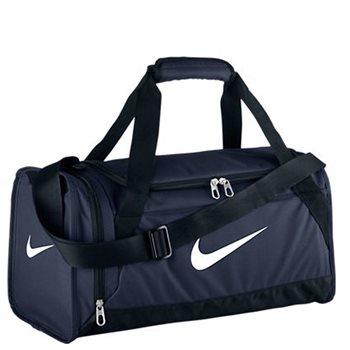 0e9857f03952 Nike Brasilia Duffel Bag (Medium) - Navy - Click to view a larger image