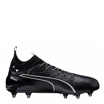 b367c8450 Puma evoTOUCH 1 Firm Ground Football Boots FG - Black/Black/Silver - Click