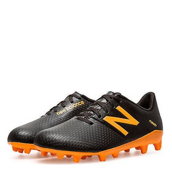 New Balance Kids Furon Dispatch Firm Ground Boots - Black/Orange