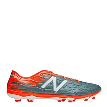 New Balance Visaro 2.0 Pro FG Football Boots - Grey/Orange