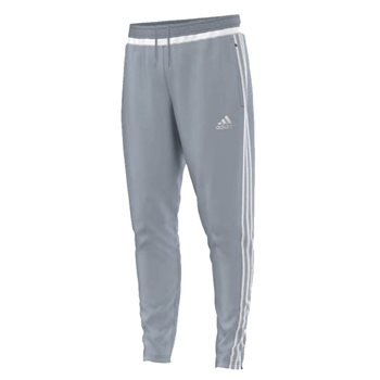 Adidas Tiro 15 Skinny Training pants - Grey/White  - Click to view a larger image