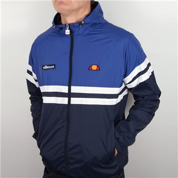 Ellesse Cerci Full Zip Hooded Jacket - Navy/Royal