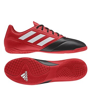 Adidas Ace 17.4 IN Football Boots - Red Black  e3f324607