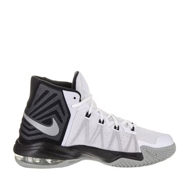 on sale a10b9 b3cac Nike Air Max Audacity 2016 Basketball Boot - White Black Grey