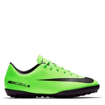 b0f325a0c96a Nike Kids MercurialX Victory VI Turf - Electric Green Black ...
