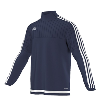Adidas Tiro15 TRG Top Yth - Navy  - Click to view a larger image