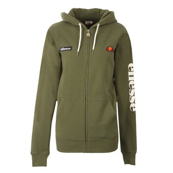 Ellesse Womens Serinatas Full Zip Hoody - Green