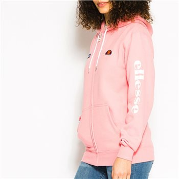 Ellesse Womens Serinatas Full Zip Hoody - Pink  - Click to view a larger image