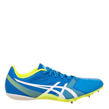 Sinceridad pasillo Fraternidad  Asics Mens Hypersprint 6 Running Spikes - Diva Blue/White/Yellow  AllSportStore.com