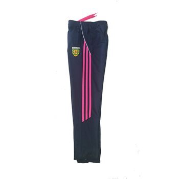 ONeills Ladies Donegal Aston Skinny Pants - Marine/Flo.Pink/White  - Click to view a larger image