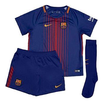 Nike Little Kids FCB Barcelona Kit 17/18 -  Royal/Burgundy  - Click to view a larger image