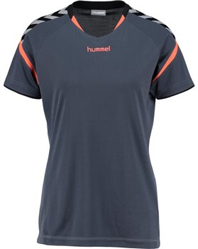 7e1701be Hummel Authentic Charge Poly Jersey Women - Ombre Blue/Nasturtium - Click  to view a