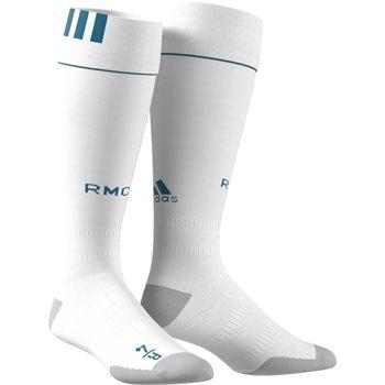 Adidas Real Madrid Home Socks 2017/18 - White
