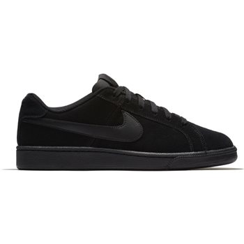 differently 14c7f 7ad69 Nike Mens Court Royale Suede - Black Black