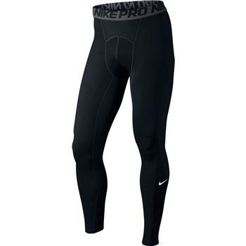 Nike Mens Pro Running Tights - Black/Grey/White